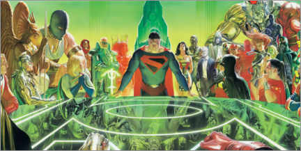 Póster  Justice League Kingdom Comet