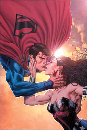 Póster  Superman and Wonder Woman