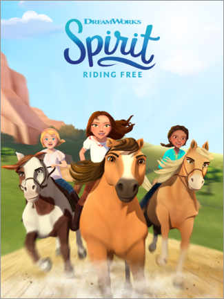 Cuadro de metacrilato  Spirit Riding Free