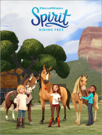 Póster  Spirit Riding Free