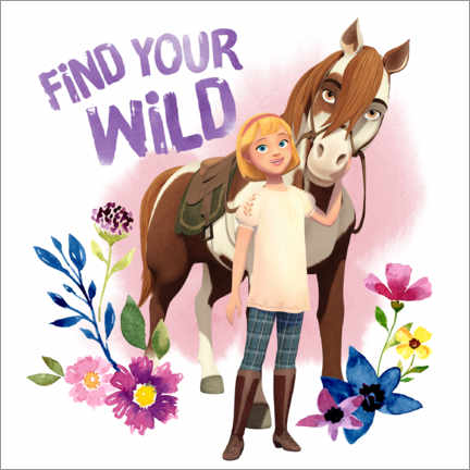 Póster  Find your wild