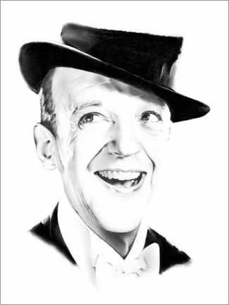 Póster Fred Astaire