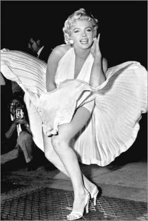 Lienzo  Marilyn Monroe Pose - Celebrity Collection