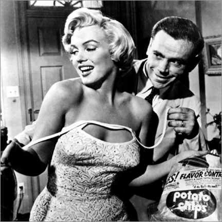 Lienzo  The Seven Year Itch - Potato Chips - Celebrity Collection