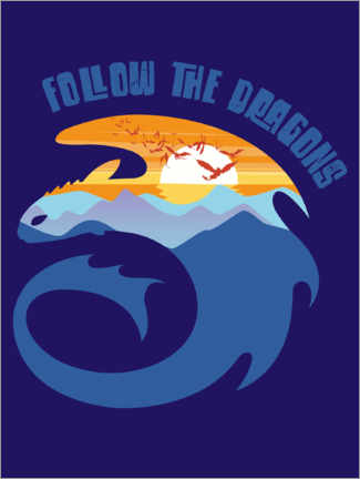 Póster  Follow the dragons
