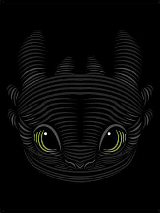 Póster  Toothless