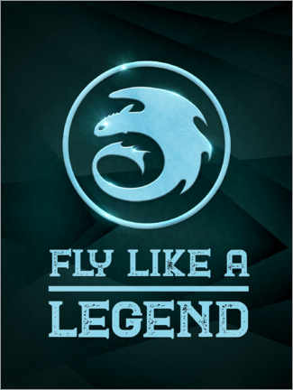 Póster  Fly like a legend