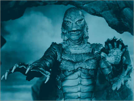 Póster  The Creature from the Black Lagoon