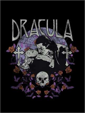 Póster  Dracula - The bite