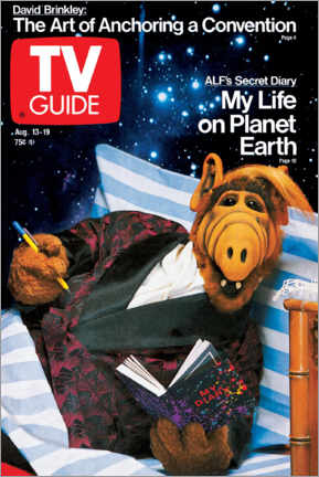 Lienzo  ALF - My Life on Planet Earth - TV Guide