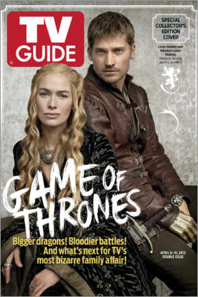 Póster  Game of Thrones - Bigger dragons - TV Guide