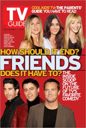 Póster  TV Guide - Friends - TV Guide