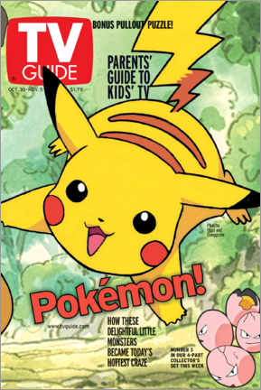 Póster  Pokémon - Pikachu - TV Guide