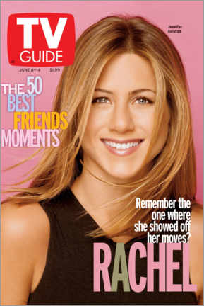 Cuadro de madera  Rachel - Friends - TV Guide