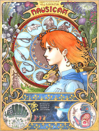 Póster  Nausicaä of the Valley of the Wind
