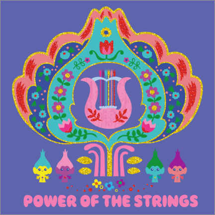 Póster  The power of strings