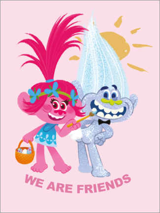 Póster  We are friends