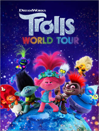 Póster  Trolls World Tour - Around the globe