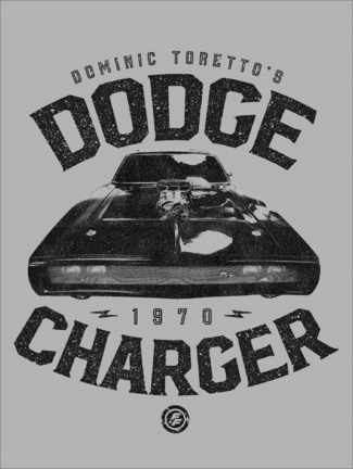 Póster  Domenic Toretto's Dodge Charger