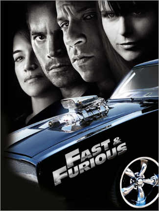 Póster  Fast & Furious