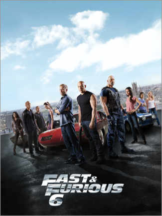 Póster  Fast & Furious 6