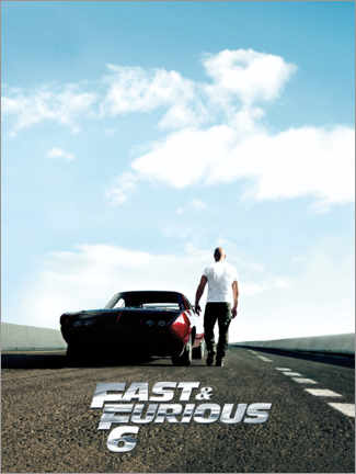 Póster  Fast & Furious 6 - Dominic Toretto
