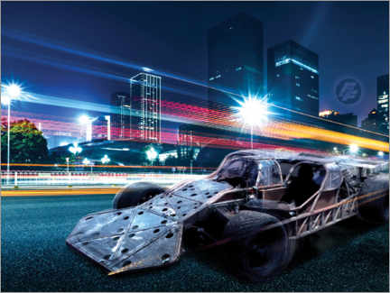 Póster  The Fast and the Furious - City Lights