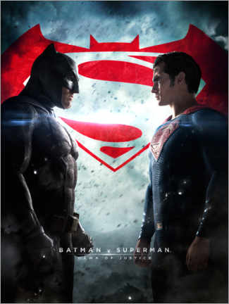 Póster  Batman v Superman: Dawn of Justice 2016