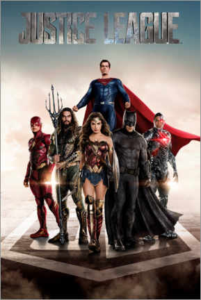Póster  DC Justice League Movie poster