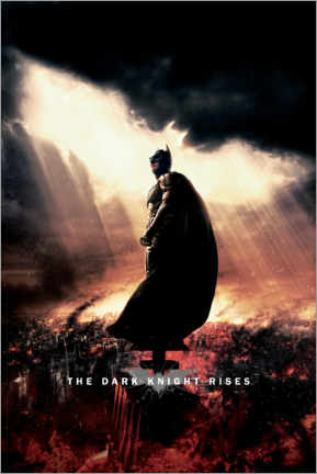Cuadro de madera  The Dark Knight Rises - Sunbeams
