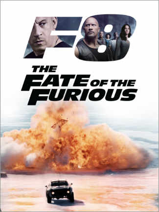 Póster  The fate of the furious