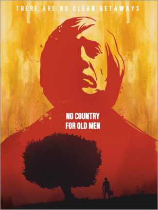 Póster No Country for Old Men