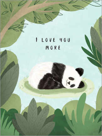 Póster  I love you more - Nikita Jariwala