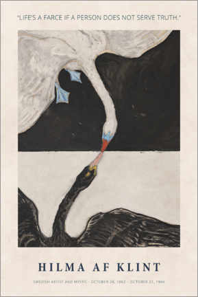 Póster Hilma af Klint - Serve truth