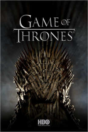 Póster Game of Thrones - Iron Throne