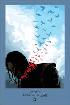 Póster  Game of Thrones - Bring me his Head Quote
