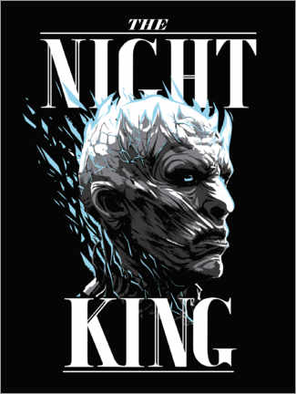 Póster Game of Thrones - The Night King