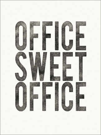 Cuadro de aluminio  Office Sweet Office - Wild Apple Portfolio