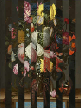 Póster Shifted  Flemish Bouquet II