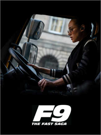Póster  F9 - Ramsey at the wheel