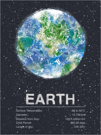 Póster Earth
