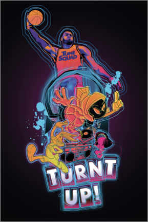 Póster  Space Jam 2 - Turnt Up!