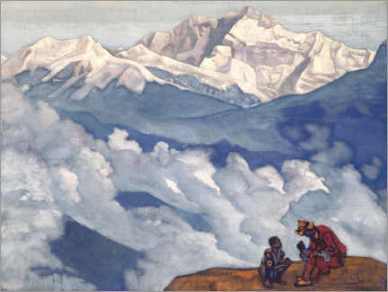 Póster  Pearl of Searching - Nicholas Roerich