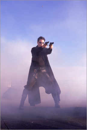 Póster  The Matrix - Keanu Reeves is Neo