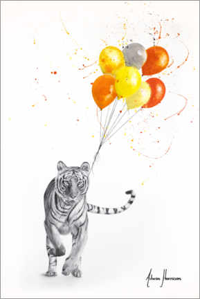 Póster The Tiger and The Balloons