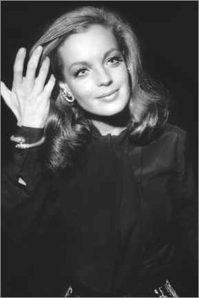 Lienzo  Romy Schneider, at Premiere of The Assassination of Trotsky, 1970