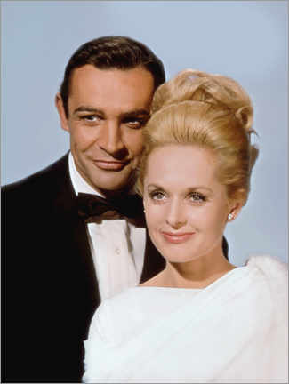 Póster  Sean Connery and Tippi Hedren, Marnie, 1964