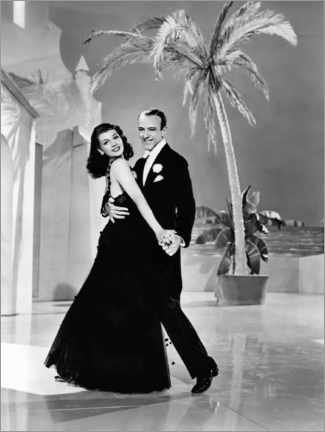 Póster  Rita Hayworth And Fred Astaire, You Were Never Lovelier, 1942