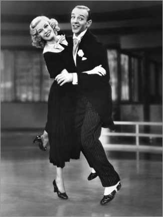 Póster  Ginger Rogers and Fred Astaire