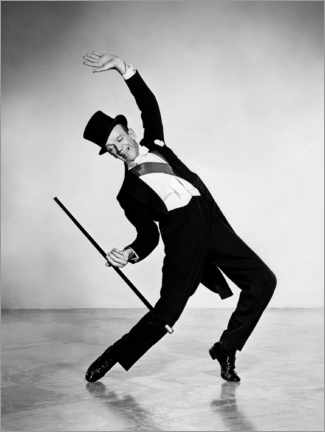 Póster  Fred Astaire, Silk Stockings Musical, 1957